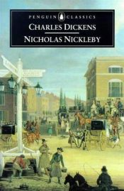 book cover of Nicholas Nickleby by Charles Dickens