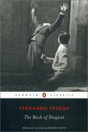 book cover of The Book of Disquiet by Fernando Pessoa