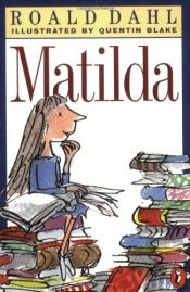 book cover of Matylda by Roald Dahl