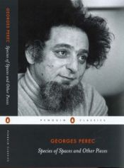 book cover of Species of space and other pieces : Georges Perec by Georges Perec