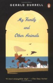 book cover of My Family and Other Animals by Gerald Durrell