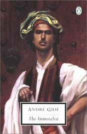 book cover of The Immoralist by André Gide