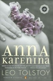 book cover of Anna Kareninová by Lev Nikolajevič Tolstoj