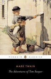 book cover of The Adventures of Tom Sawyer by مارك توين