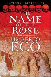 book cover of Ruusun nimi by Umberto Eco