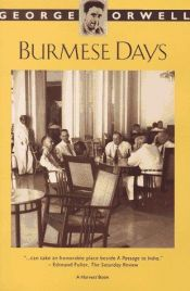 book cover of Burmese Days by George Orwell