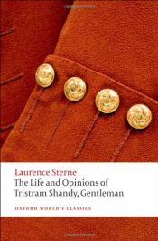book cover of The Life and Opinions of Tristram Shandy, Gentleman by Laurence Sterne
