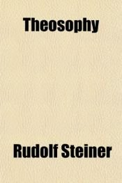 book cover of Teosofia by Rudolf Steiner
