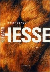 book cover of Wilk stepowy by Hermann Hesse