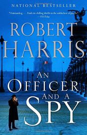 book cover of An Officer and a Spy by Robert Harris