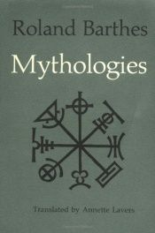 book cover of Mytologioita by Roland Barthes
