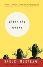 book cover of After the Quake by Haruki Murakami