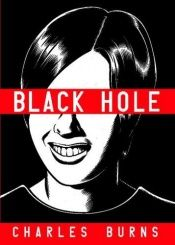 book cover of Black hole by Charles Burns