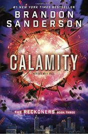 book cover of Calamity (The Reckoners) by Brandon Sanderson