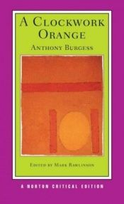 book cover of En apelsin med urverk by Anthony Burgess