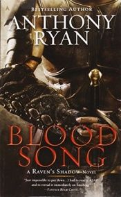 book cover of Blood Song (A Raven's Shadow Novel) by Anthony Ryan
