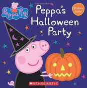 book cover of Peppa's Halloween Party (Peppa Pig: 8x8) by unknown author