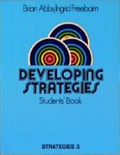 book cover of Strategies: Developing Strategies No. 3 by Brian Abbs