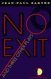 book cover of No Exit and Three Other Plays by Jean-Paul Sartre