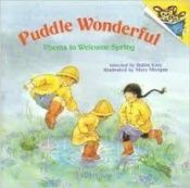 book cover of Puddle Wonderful - Poems To Welcome Spring by Mary Morgan