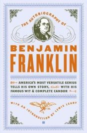 book cover of The Autobiography of Benjamin Franklin by Benjamin Franklin