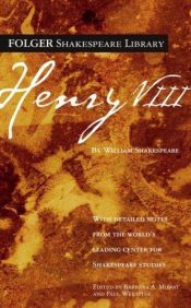 book cover of Henry VIII by William Shakespeare