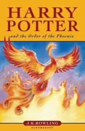 book cover of Harry Potter and the Order of the Phoenix by J. K. Rowling