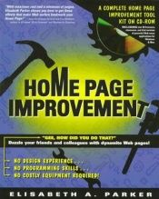book cover of Home page improvement by Elisabeth Parker