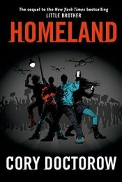 book cover of Homeland by Cory Doctorow