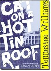 book cover of Cat on a Hot Tin Roof by टेनेसी विलियम्स