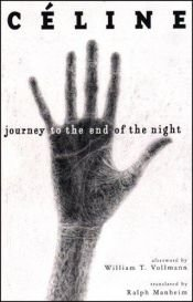 book cover of Journey to the End of the Night by Louis-Ferdinand Céline