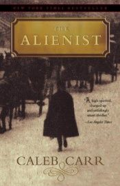 book cover of The Alienist by Caleb Carr