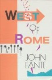 book cover of A oeste de roma by John Fante