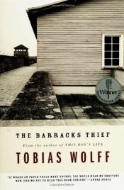 book cover of The Barracks Thief by Tobias Wolff