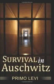 book cover of Survival In Auschwitz by Primo Levi