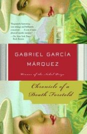 book cover of Chronicle of a Death Foretold by Gabriel Garcia Marquez