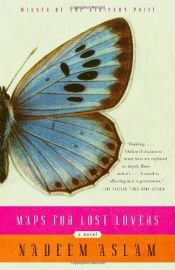 book cover of Maps for Lost Lovers by Nadeem Aslam