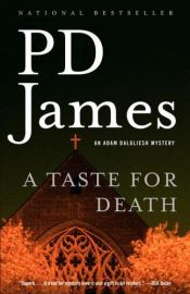 book cover of A Taste for Death by P. D. James