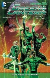 book cover of Green Lantern, Vol. 3: The End by Geoff Johns