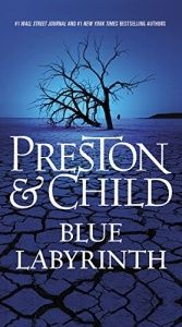 book cover of Blue Labyrinth (Agent Pendergast series) by Douglas Preston|Lincoln Child