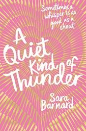 book cover of A Quiet Kind of Thunder by Sarah Barnard
