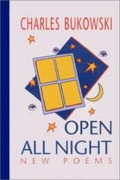 book cover of Open all night by Charles Bukowski