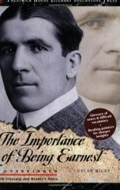 book cover of The Importance of Being Earnest by Oscar Wilde