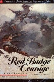 book cover of Red Badge of Courage by Стивен Крейн