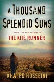 book cover of A Thousand Splendid Suns by Khaled Hosseini