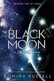 book cover of Black Moon (Zodiac) by Romina Russell
