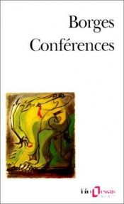 book cover of Conférences by Borges