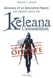 book cover of Keleana et le Seigneur Pirate by Sarah Maass