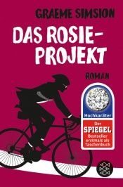 book cover of Das Rosie-Projekt by Graeme Simsion