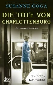 book cover of Die Tote von Charlottenburg by Susanne Goga